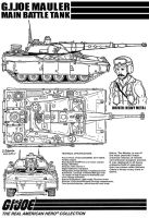 GIJOE MAULER Main Battle Tank by archaznable30