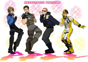 RE6 MEN dance by gigoro5656