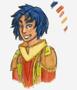 Smiling Ezra by flying-soap