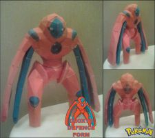 Deoxys Defence Form Papercraft Finished by rubenimus21