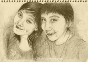 me and kinta :D by zsami