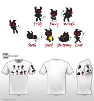 Deadly Sins by Friggo-Glicker
