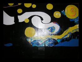 Duct Tape Starry Night 27 hrs by DuckTapeBandit