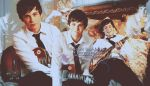 Logan Lerman Banner by paucie