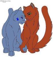 Bluestar and Oakheart by FunkyMonkey19