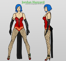 Jordan Hazzard: Orthographic 1 by arieaDome