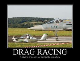 Drag Racing by Denodon