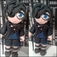 Modeling clay Ciel :3 by bornfromawish5621