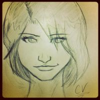 Doodle - Can't Stop Thinking by tamtu