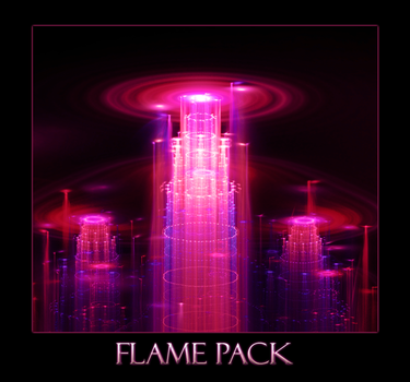 3D Hack Flamepack by TsukinoHikari20
