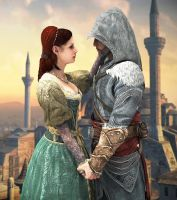 Sofia and Ezio by LoveStruck2