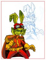 DD015 Bucky O'Hare colour by TicTacFinger