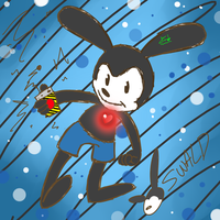 Oswald The Lucky Rabbit  by megthedoodler1999