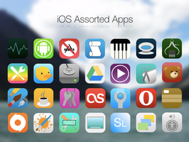Assorted iOS7 / iOS8 Icons for OS X by BlackVariant