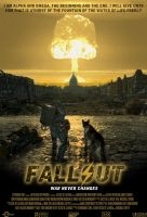 Fallout Movie Poster by EspionageDB7