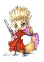 Commission - Vash Chibi by fictograph