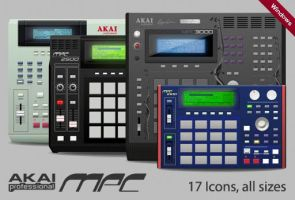 Akai MPC Series Windows by Daoud1