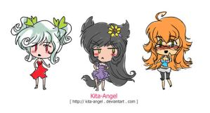 Whiskers Doodle Chibis by Kita-Angel