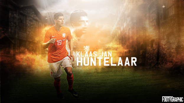 Huntelaar by Footygraphic