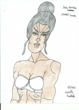 sexy Romulan lady by imperator2000