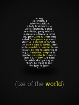 Ize of the World by turquoisy