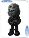 Tie fighter pilot - chibi by Evolvana