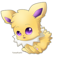 Chibi Jolteon by RainbowRose912