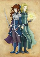 The Legionnaire and the Elf-Mage by theLostSindar