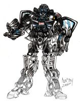 -STEPS- Transformers: Dragan by miraibaby