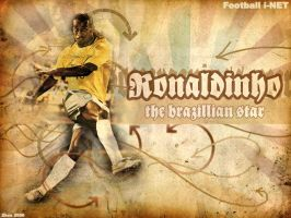 ronaldinho wp by zhoumlh