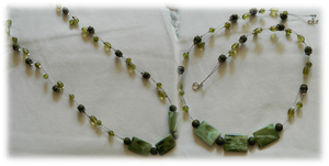Wispy Green Necklace by DOC-Ash1391