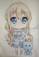 Mugi-chan :33 [THANKS FOR OVER 20 WATCHERS ...] by Alex-Chii