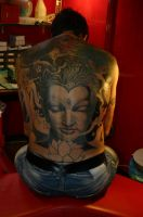 Buddha, work in progress by MarcoFirinu