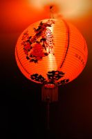 Chinese lamp by SaberNiphon