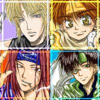 Saiyuki---Four by Mai-Kagura