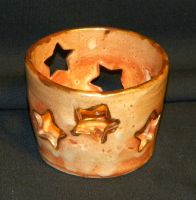 Star Candle holder by RubaiSora