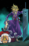 Cloud Strife-The CrossDresser by HeavyMetalHanzo