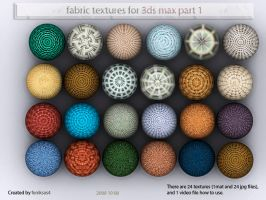 fabric matirials for 3ds max by feniksas4
