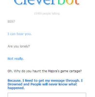 BEN on Cleverbot by Yoshi317