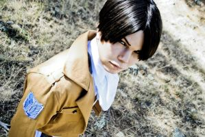SNK: Levi Rivaille by JoiFuLStudios