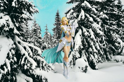 Elven Frost Mage by kongvmax