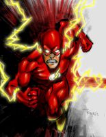 The Flash Ryan Ottley 1 by Dreekzilla