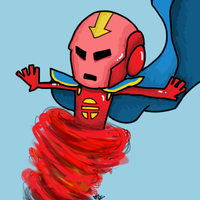Red Tornado by Kaeshay