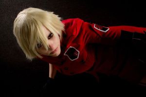 Seras Victoria - We are on a mission from god by MindlessDragon
