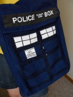 TARDIS Bag by ziggie-stardust