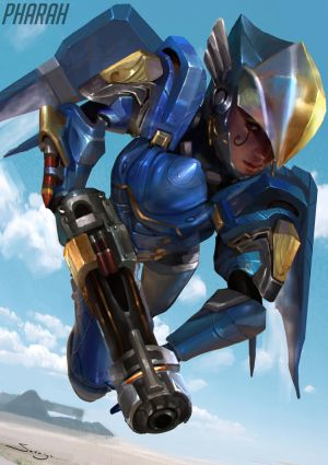 Pharah by Ron-faure