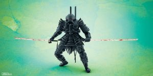 Samurai :: Black II by Matt-Mills