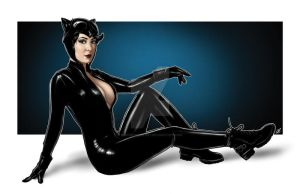Kristen's Catwoman by BigChrisGallery