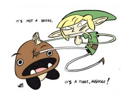 LINK brings the PAIN by Andrew-Ross-MacLean