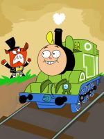 Jimmy locomotive by HeinousFlame